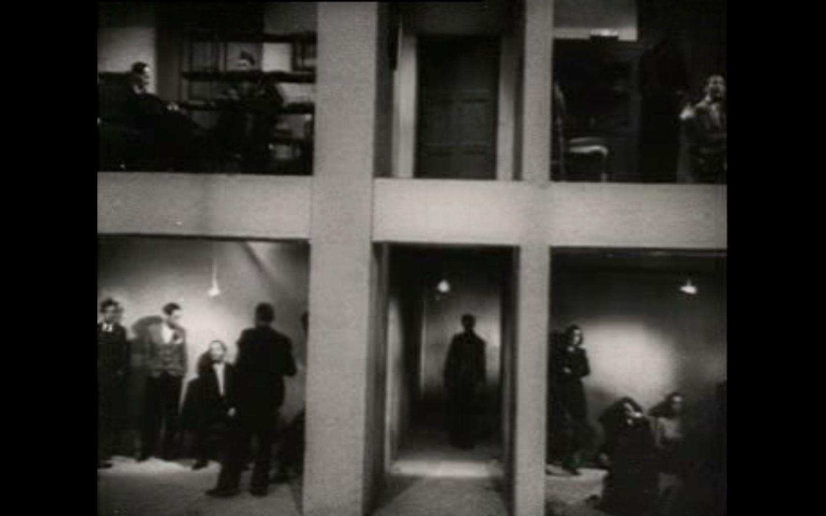 Fragmento de la película Rojo y negro (1942)