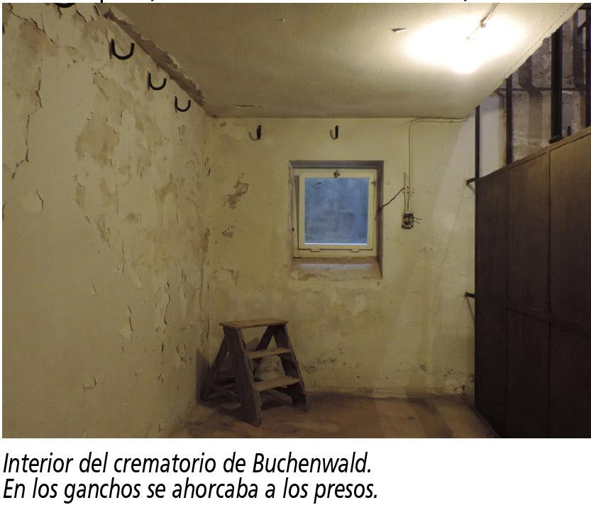 Buchenwald ganchos