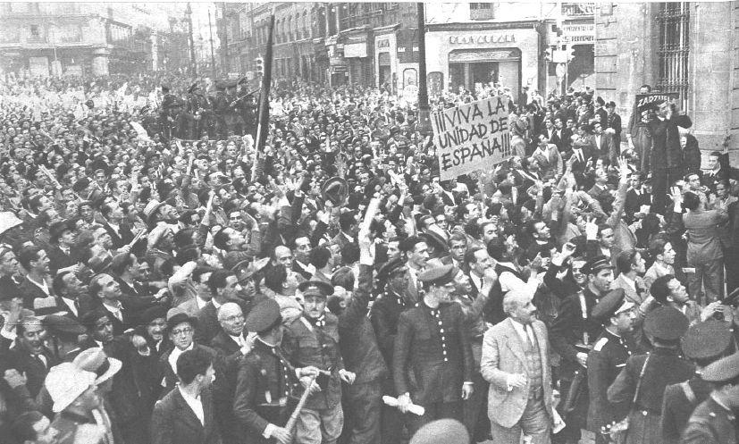 manifestación octubre 1934